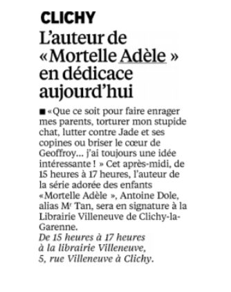 Image à la une de l'article « Dédicace Mr Tran »